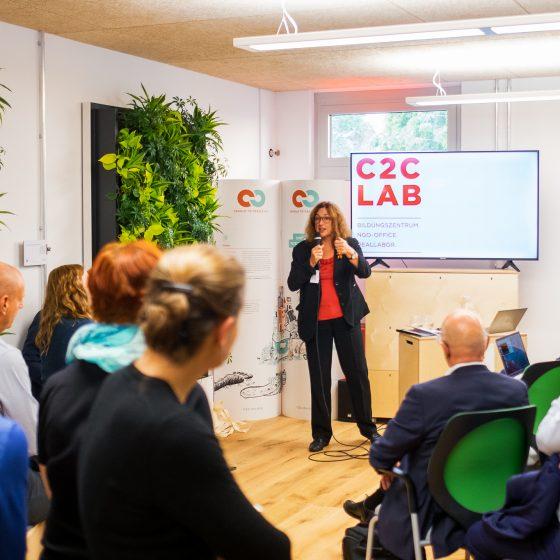 Dr. Monika Griefahn, C2C LAB Feierliche Eröffnung